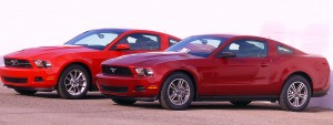 Mustang V6 fr-side