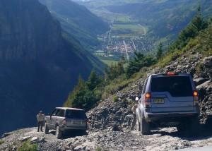 Downhill to Telluride