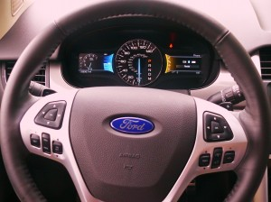 Ford Edge driver view