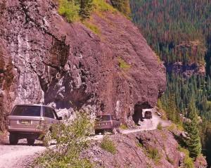 Range Rovers, overhang