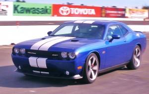 Dodge Challenger blue