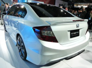 Honda Civic, rear corner