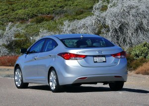 Hyundai Elantra, rear corner
