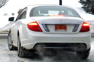 CL550, rear