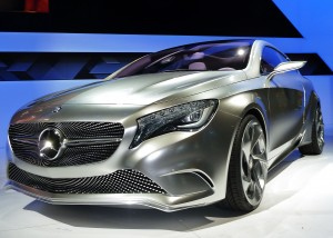 Mercedes concept A-Series gas-hybrid