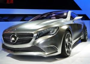 Mercedes concept A-Series gas-hybrid