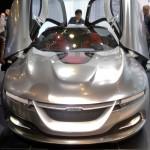 Saab concept sports car