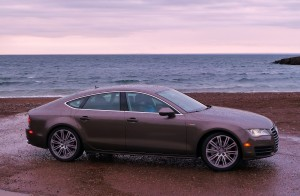 Audi's new A7, with its fastback roofline and high-tech features, sets new standards -- even for Audi.