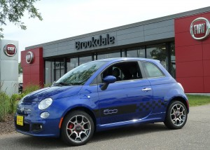 Fiat's long-awaited 500 subcompact has hit U.S. showrooms as a separate small-car entry for Chrysler Group.