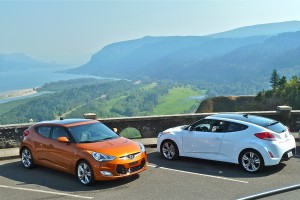 Hyundai has added to its list of recent hits with the Veloster sports coupe, an eye-catching vehicle that can attain 40 miles per gallon.