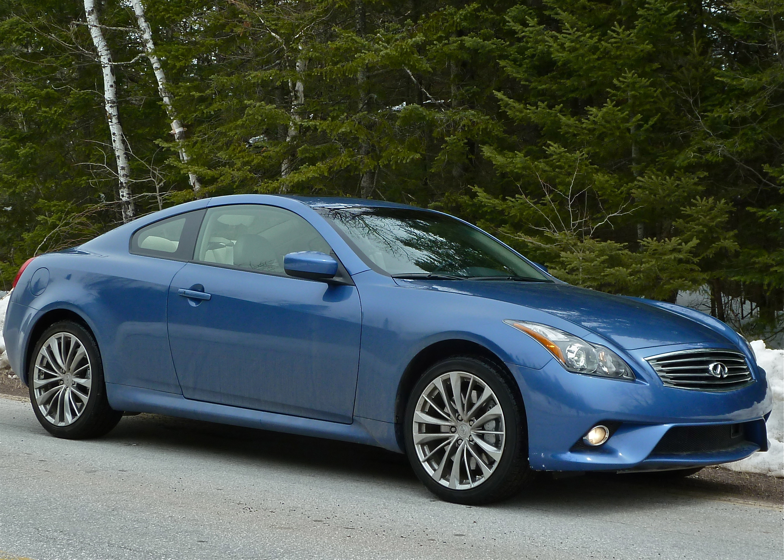 Infiniti G37x S Coupe Smoothly Covers All Seasons New Car Picks