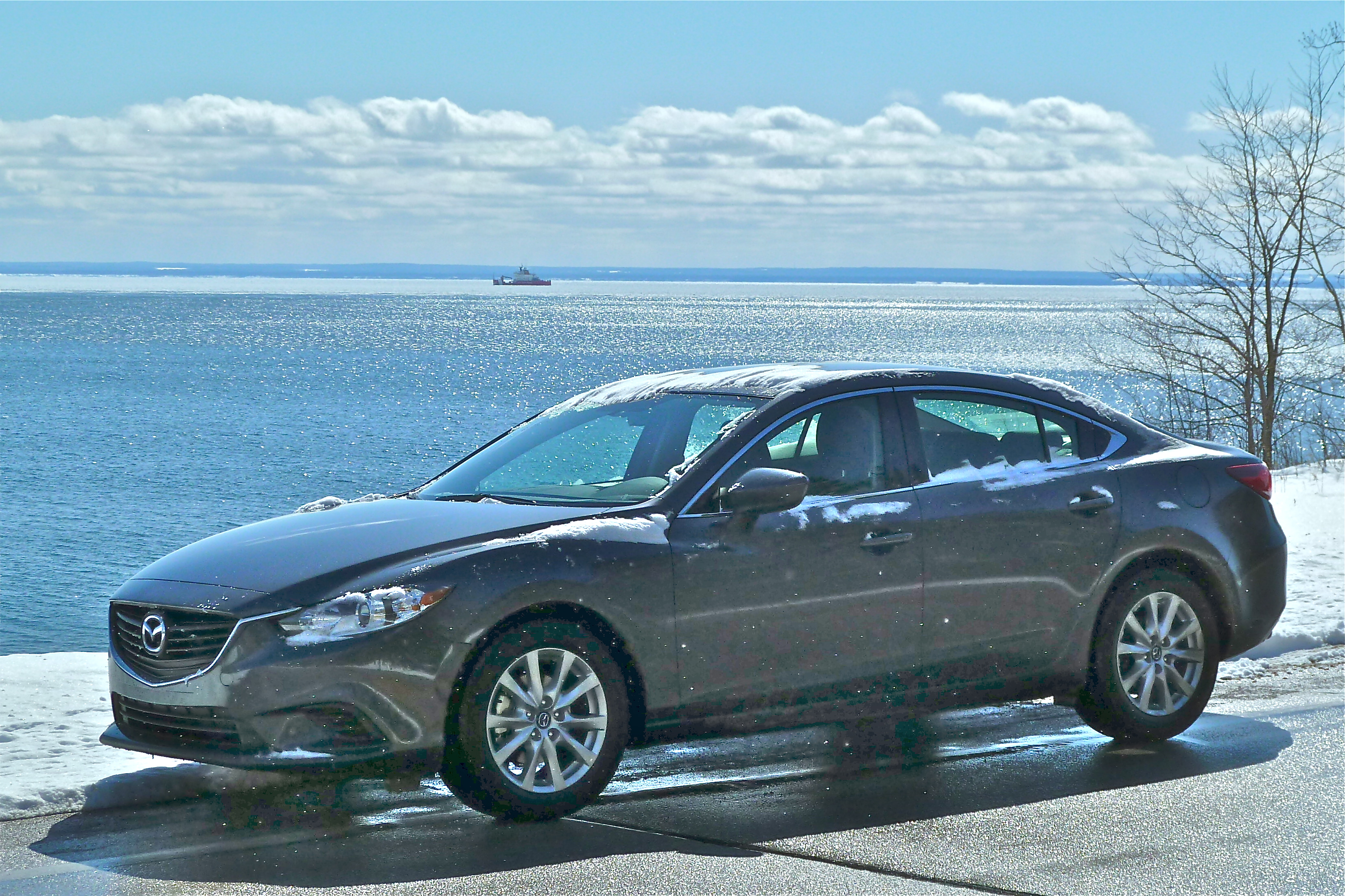 Restyled Mazda6 performed well in late-winter test drives on Minnesota