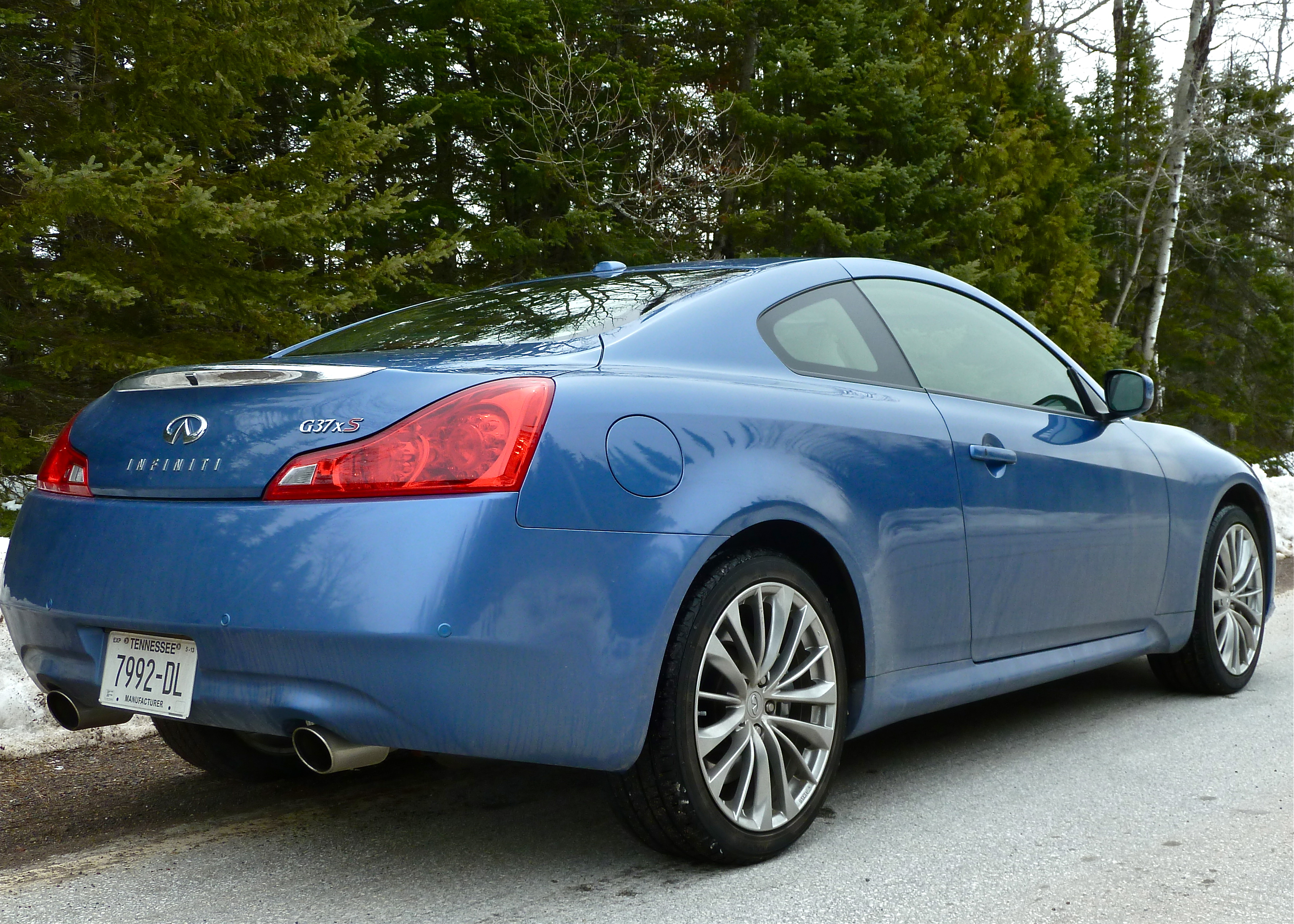 Infiniti G37X S Coupe smoothly covers all seasons : New ...