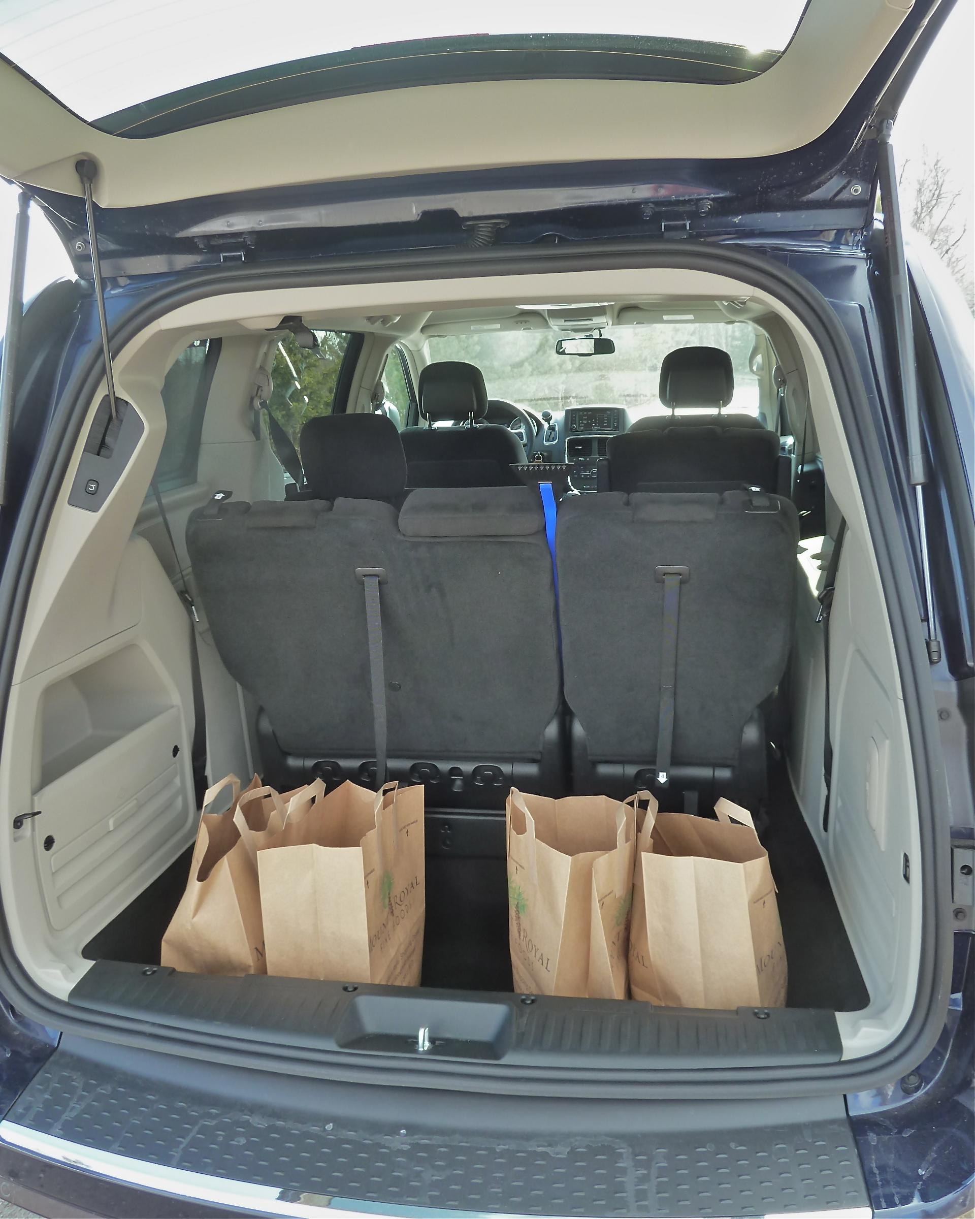 Storage Space: Dodge Caravan Storage Space