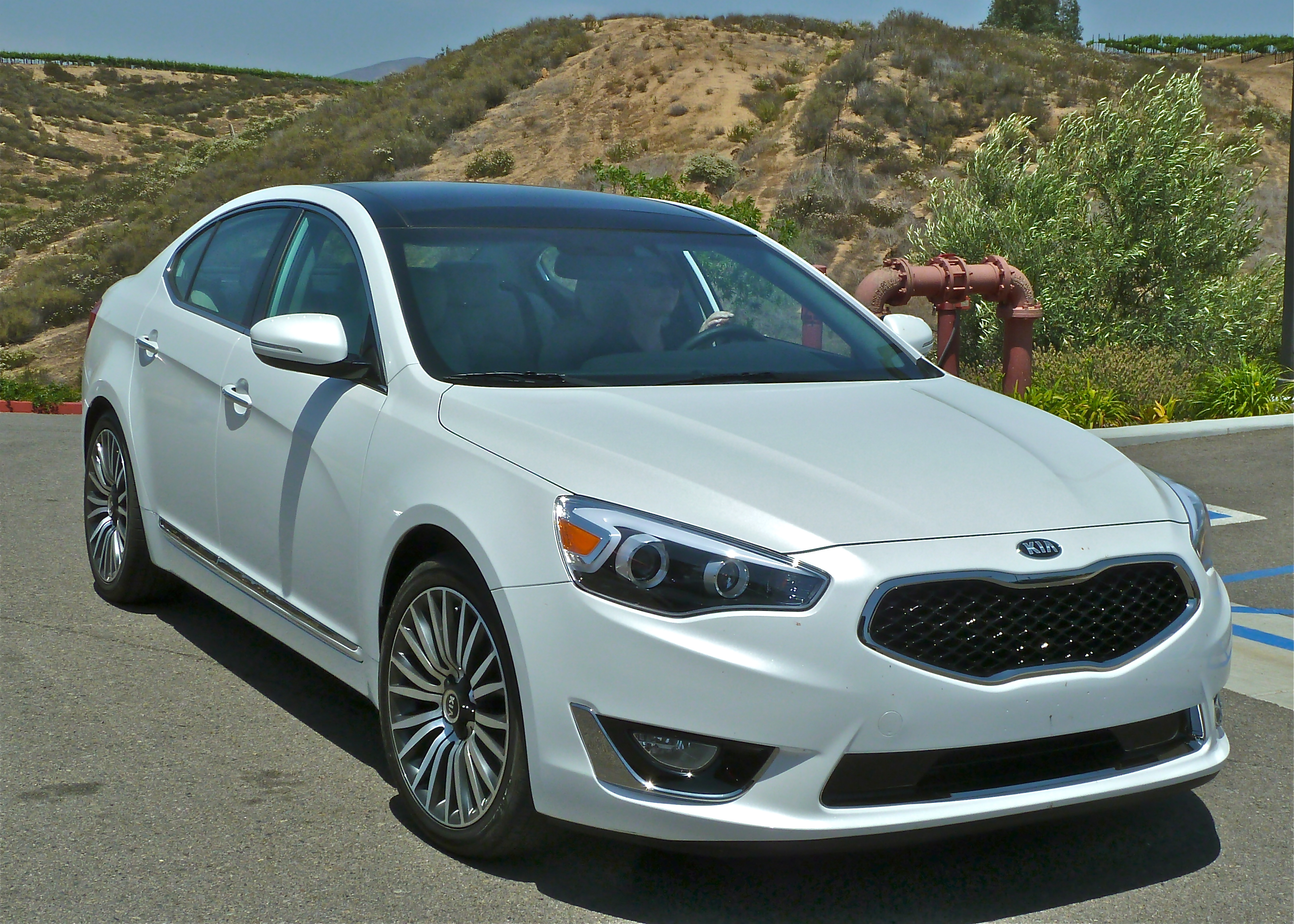 kia rides cadenza into luxury category new car picks. Black Bedroom Furniture Sets. Home Design Ideas