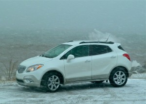 Buick Encore is a stylish smaller version