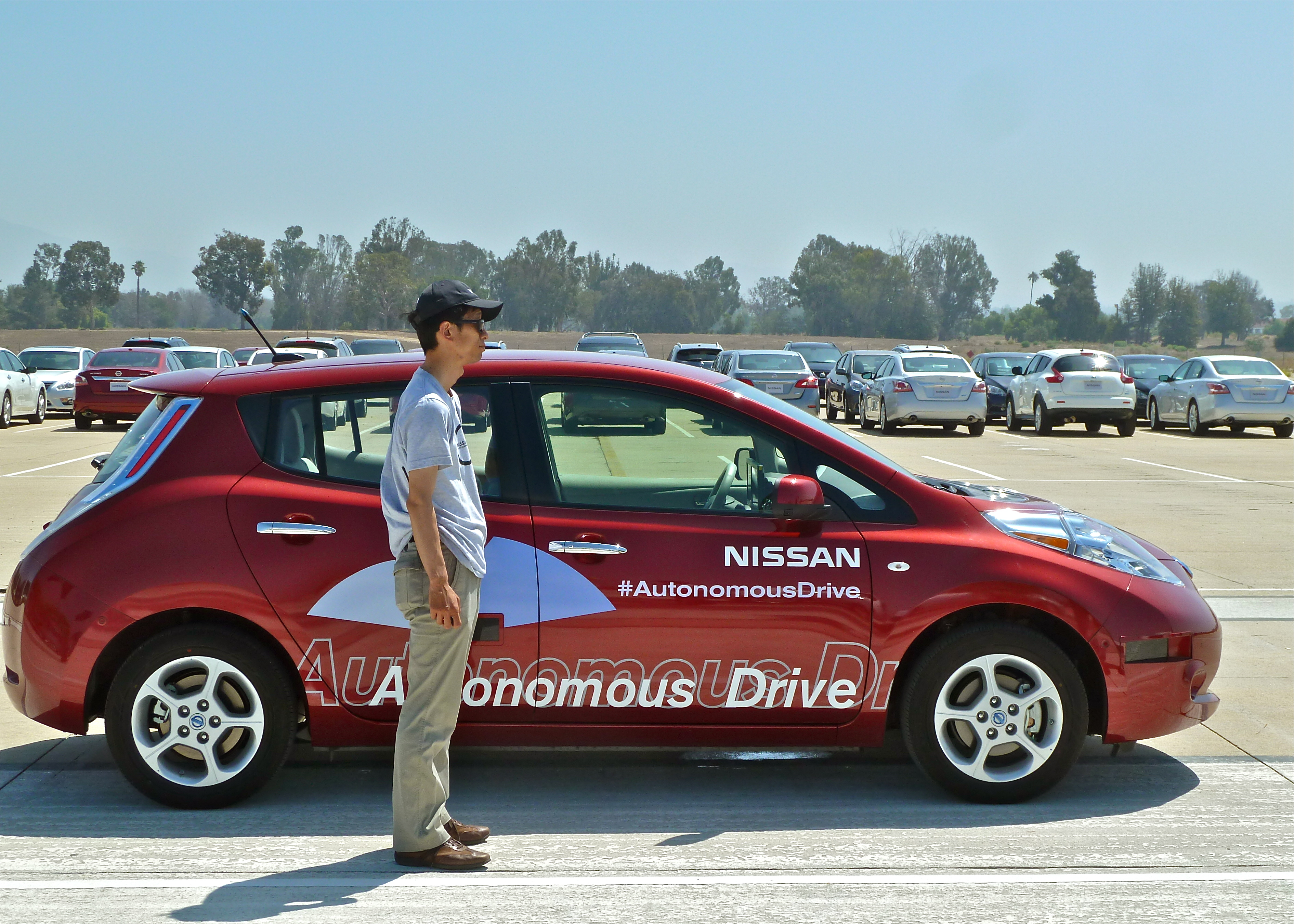 Nissan Driving Itself Into Future : New Car Picks