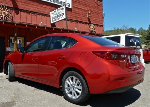 Graceful sedan lines make Mazda3 look far costlier than $17,000.
