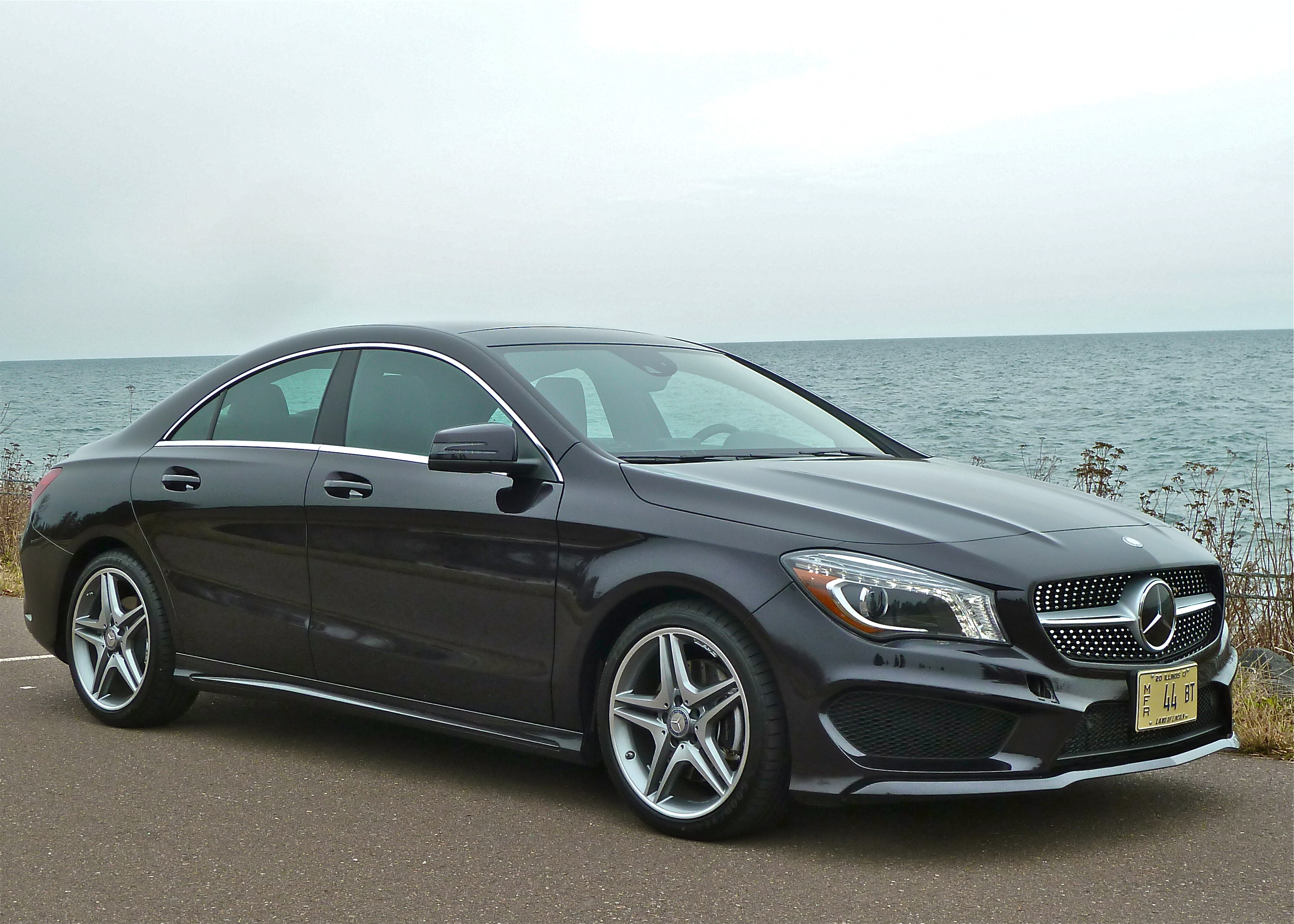 Compact and sleek, the Mercedes CLA250 is a coupe-shaped sedan at entry-level price.