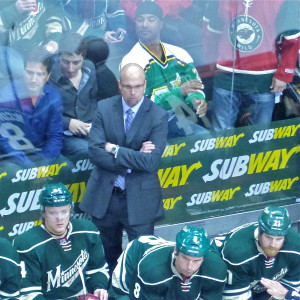 Coach Mike Yeo excludes all distractions in guiding the Minnesota Wild.