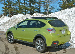 Crosstrek is Subaru's most stylish SUV and adds hybrid power.