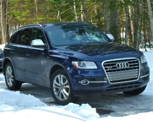 SQ5 takes Audi Q5 to sportier capabilities.