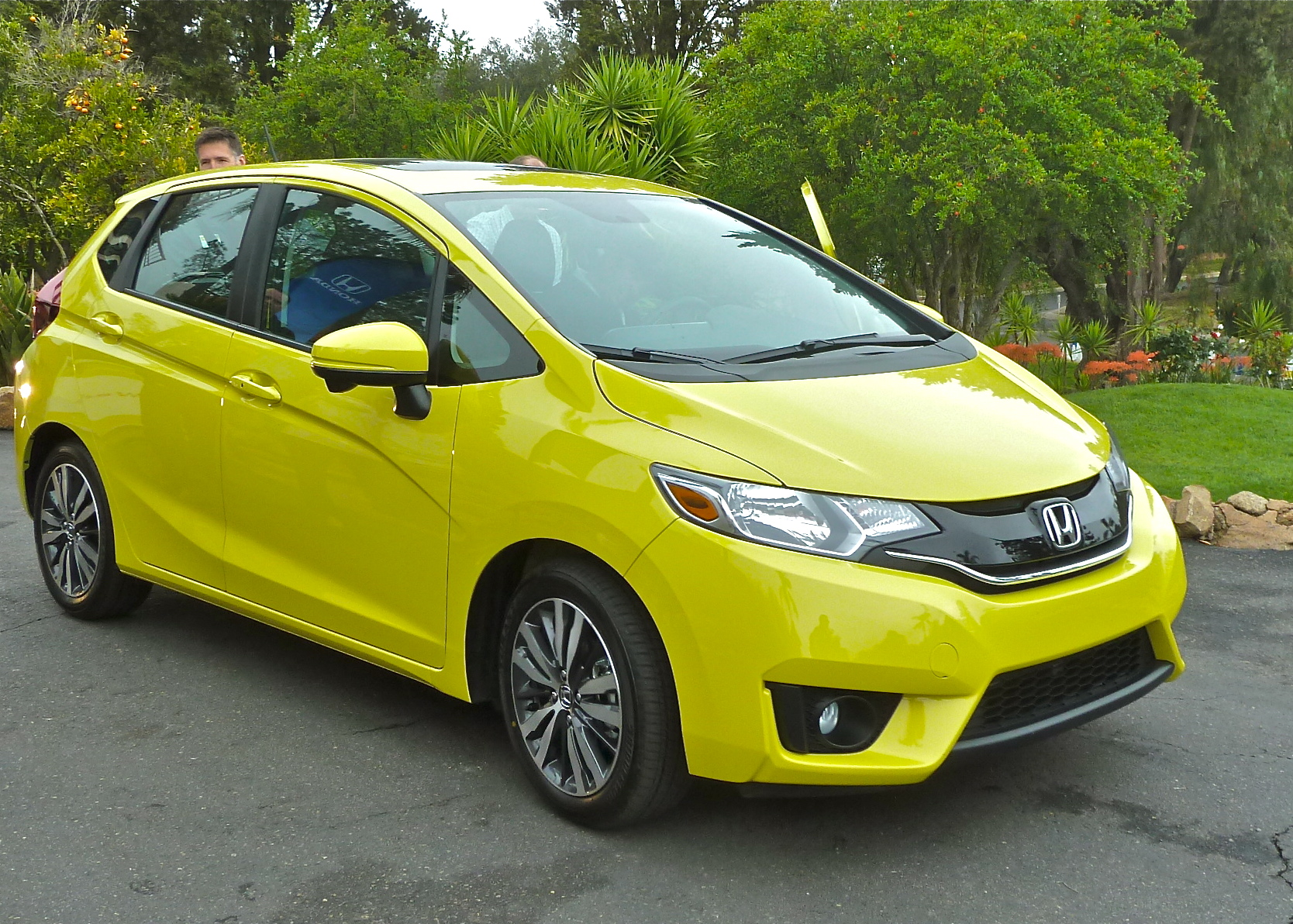 For 2015, Honda redesigned the subcompact Fit from top to bottom.