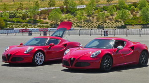 Among the colors available on the 1,000 U.S.-bound 4C Alfas for 2015 are red, or red.