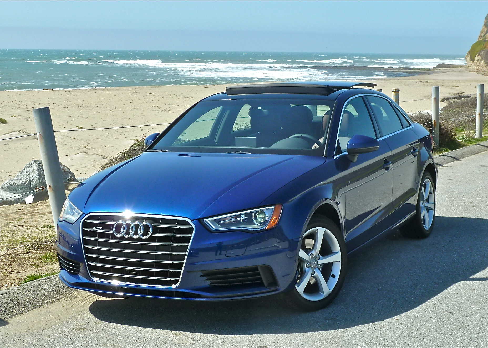 Audi A3 line includes a 4-door sedan for 2015.
