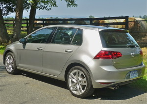 Slightly longer, lower and wider, the 2015 Golf adds roominess inside.
