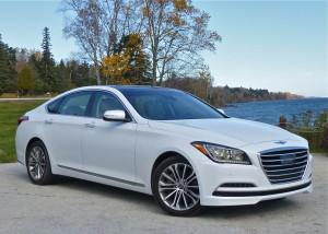 First major revision of Hyundai Genesis earned berth.