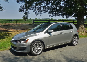 The base Golf S and the TDI model share the clean look and flashy wheels.