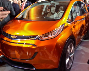 Chevrolet expanded its electric output with the plug-in subcompact Bolt.