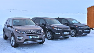 Studded tires and a good heater helped Discovery Sport cruise around Iceland.