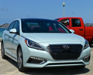 Sonata Hybrids come in Base or Limited.