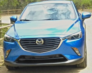 What has become the signature Mazda grille adorns the CX-3.