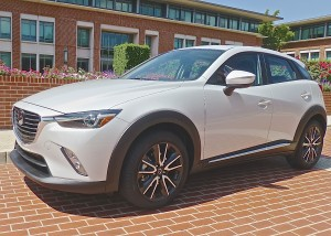 The taut CX-3 lines are intended to look like a Cheetah, tensed to spring.