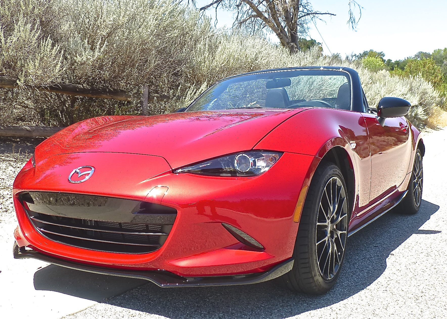 In its fourth-generation redesign, the MX-5, or Miata, takes on an exotic look.
