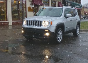 First snow didn't bother Renegade Limited, which offers more features, for more money.