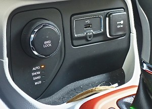Connectivity is joined by unique switchable control of 4x4 to handle conditions.