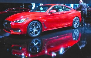 Nissan's Infiniti line adds a hot-performing Q60 Coupe.