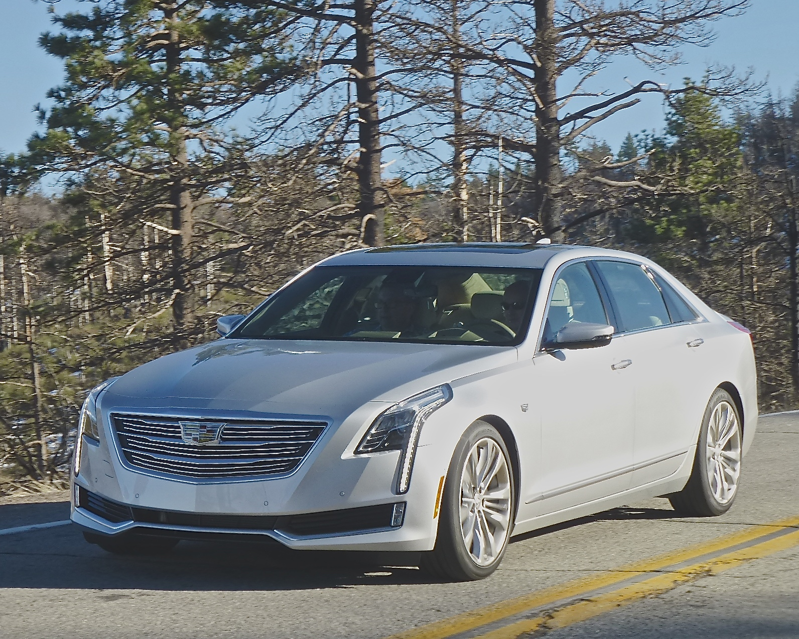 Unique Combination Of Steel And Aluminum Make The CT6 Lighter Than S Class