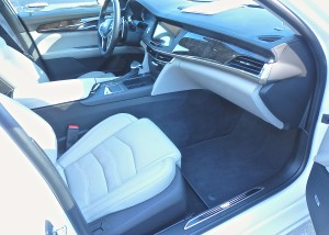 Various CT6 interior choices all stress clean and classy surfaces.