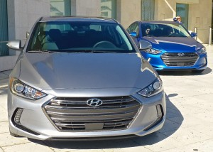 Redesigned grille gives new Elantra a serious demeanor.