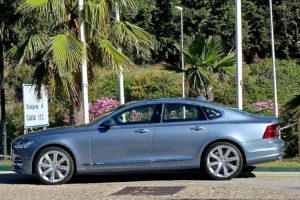 The S90 becomes Volvo's largest sedan, a sleek replacement for the S80.
