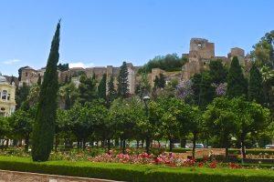 Malaga features the Alcazaba de Malaga, dating to the 11th century.