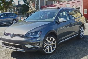 Alltrack proved surprisingly adept at some rocky off-roading as on the highway or on small-town streets.