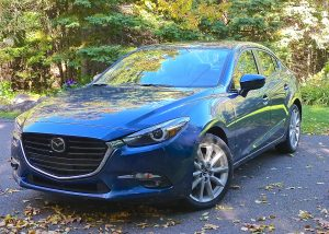 The redone 2017 Mazda3 has an aggressive look, but the big change is beneath the sheet metal.
