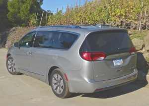 Redesigned Chrysler Pacifica minivan now includes a Hybrid optional model that can approach 100 mpg.