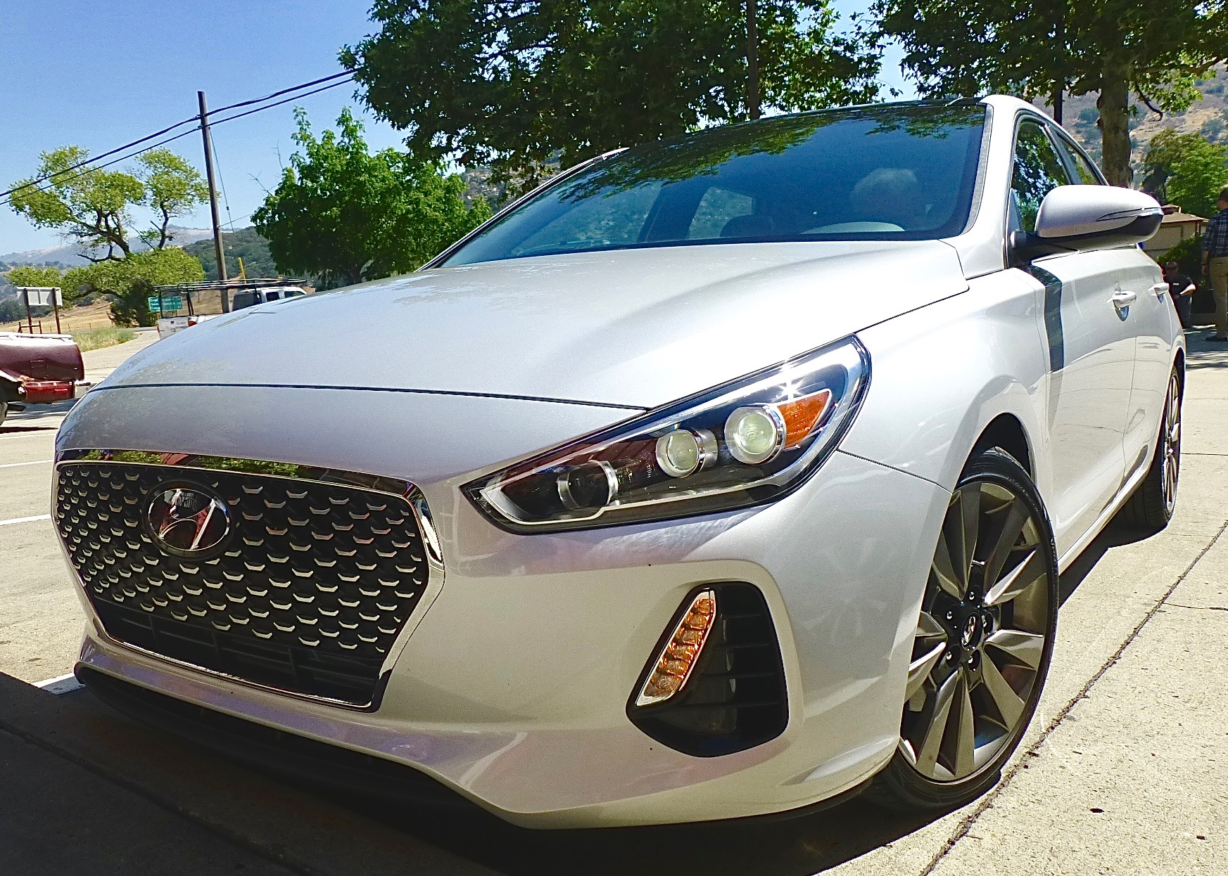 Compact Elantra Sport GT grows into sporty competitor with midsize entries.